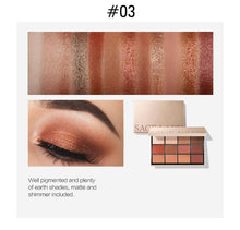 Load image into Gallery viewer, Eyeshadow Palette Makeup Glitter Eye Shadow Pallete Professional Matte Shadow Make Up High Pigment Nude Cosmetic