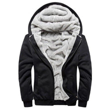 Load image into Gallery viewer, Fleece Jacket Men Winter Thickening  Jacket Male Streetwear Autumn Slim Fit Warm Coat Fashion Bomber