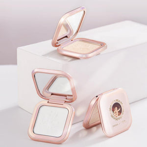 The British Museum Angel Cupid Collection 2 Colours Brighten Highlighter Palette Waterproof Long Lasting Cosmetics