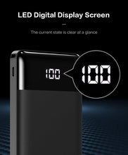 Load image into Gallery viewer, Power Bank 10000mAh Portable Phone External Battery Charger Dual USB Charging Powerbank for iPhone Xiaomi PoverBank