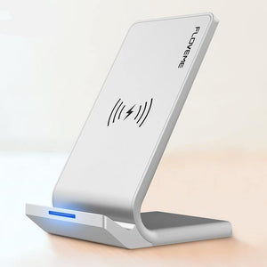 10W Qi Wireless Charger For iPhone 8 X Xs For Samsung Galaxy S10 Plus S8 S9 S7 Edge Fast Charger Wireless Charging Dock