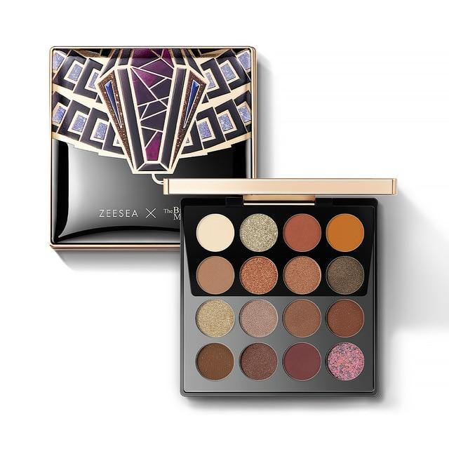 Egypt Collection 16 Colors Earth Tones Eyeshadow  Palette WaterProof Glitter Matt Eye Shadow sombra