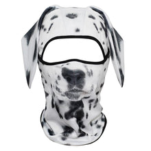 Load image into Gallery viewer, 3D Dog Animal Ear Balaclava Cap Full Face Mask Head Guard  Breathable Mesh Bicycle Funny Shield Snowboard Helmet Liner Men Women