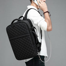 Load image into Gallery viewer, Travel Backpack Men Expandable 12cm Multifunctional Bag Fit 15.6 inch Laptop Backpacks Male
