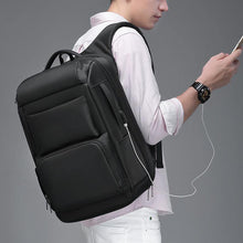 Load image into Gallery viewer, Travel Backpack Men Multifunction Large Capacity Male Bags USB Charging Port 17.3 inch Laptop Backpacks