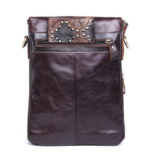 Load image into Gallery viewer, Fashion Genuine Leather Shoulder Bag Men Crossbody Bags Small Over-the-shoulder Messenger Bags Luxury Male Travel Bag