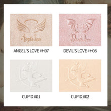 Load image into Gallery viewer, The British Museum Angel Cupid Collection 2 Colours Brighten Highlighter Palette Waterproof Long Lasting Cosmetics