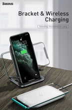 Load image into Gallery viewer, 15W Qi Wireless Charger Stand For iPhone 11 Pro X XS Fast Wireless Charging Pad For Samsung S20 S10 Phone Charger Station