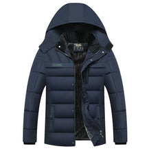 Load image into Gallery viewer, Winter Parka Jacket Men -20 Degree Thicken Warm Parkas Hooded Coat Fleece Man's Jackets Outwear