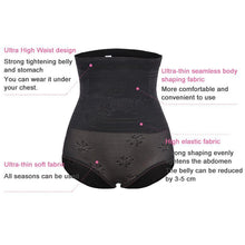 Load image into Gallery viewer, Butt Lifter Shaper High waist trainer Control Panties Slimming Underwear Abdomen Enhancer Straps Modeling