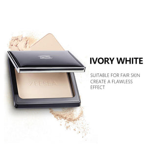 Loose Powder Compact Pressed Powder For Face Control Oil Lasting Concealer Waterproof High Gloss Female Repair Makeup 13g