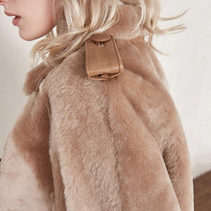 real fur coat winter jacket women Merino Sheep Fur real Genuine Leather jacket liner Thick Warm natural Fur parka