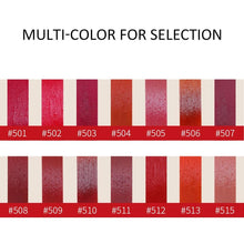 Load image into Gallery viewer, 14 Colors Matt Moisturized Lip Gloss Pigmented Easy To Wear Makeup Maquiagem Lipgloss Long Lasting Cosmestic