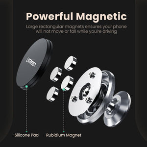 Magnetic Phone Holder for iPhone X 8 Samsung S9 Plus Car Holder for Phone in Car for Dashboard Mobile Phone Holder Stand