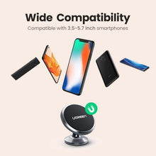 Load image into Gallery viewer, Magnetic Phone Holder for iPhone X 8 Samsung S9 Plus Car Holder for Phone in Car for Dashboard Mobile Phone Holder Stand