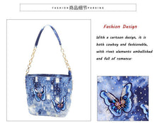 Load image into Gallery viewer, Fashion Denim Luxury Handbags Women Bags Designer Crossbody For Small Messenger Bags