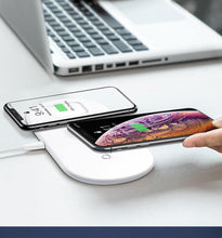 Load image into Gallery viewer, 3 in 1 Qi Wireless Charger for Apple Watch 5 4 3 2 Airpods 3in1 18W Fast Wireless Charging Pad For iPhone 11 Pro Max Xs X