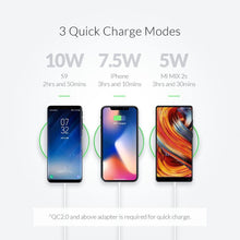 Load image into Gallery viewer, Qi Wireless Charger 10W  Charging Pad for iPhone 11 Samsung Xiaomi Charge