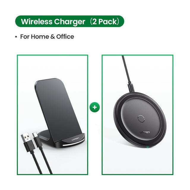 Qi Wireless Charger Stand for iPhone 11 Pro X XS 8 XR Samsung S9 S10 S8 S10E Fast Wireless Charging Station Phone Charger