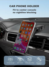 Load image into Gallery viewer, Magnetic Car Phone Holder for iPhone Foldable Mount Mobile Phone Holder for Dashboard Paste Flexible Car Holder Stand