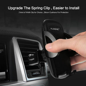 One-Click Release Car Phone Holder Universal Air Vent Mount Car Holders Stand Mobile Supports for iPhone Xiaomi Samsung
