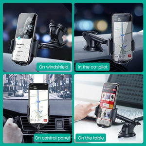 Car Phone Holder for Your Mobile Phone Stand in Car Cellular Support Holder for iPhone 11 8 Car Suction Cup Mobile Holder
