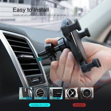 Load image into Gallery viewer, Gravity Car Phone Holder For iPhone X XS Max XR Air Vent Mount Car Holder For Samsung S9 OPPO Phone Stand Telefon Tutucu