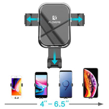 Load image into Gallery viewer, Gravity Car Phone Holder Stand for Mobile Phone in Car Luxury Auto Locked Mirror Holder for iPhone Xiaomi