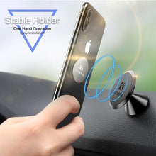 Load image into Gallery viewer, Magnetic Car Phone Holder Cool Air Vent Mount Stand For Samsung S9 S8 GPS Navigator Support Holder For Phone in Car
