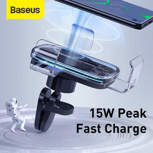 15W Wireless Car Charger For iPhone 11 Pro Fast Car Wireless Charging Holder For Samsung S20 Xiaomi mi 9 Gravity Charger
