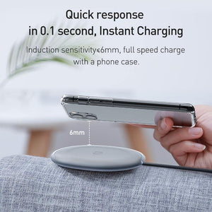 15W Qi Wireless Charger For iPhone 11 Pro 8 Plus Induction Fast Wireless Charging Pad For Airpods Pro Samsung Xiaomi mi 9