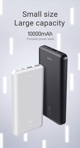 Power Bank 10000mAh Portable Charging PowerBank USB PoverBank External Battery Charger for Samsung Xiaomi Mi 9 8 IPhone x