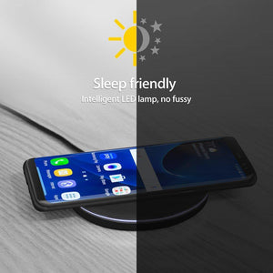 10W Fast Wireless Charger For iPhone X 8 XS Max XR Qi Wireless Charger for Samsung S8 S9 Plus USB Phone Charger Pad