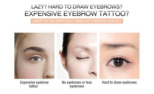 4D Makeup Eyebrow Tattoo Sticker Waterproof  Long Lasting Eyebrows Lamination Makeup  Eyebrow Enhancer Cosmeitcs