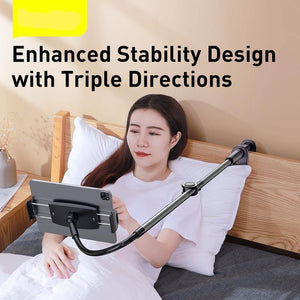 Lazy Holder for Bed Desk Desktop Phone Holder Long Arm Flexible Mobile Phone Stand Holder Table Clip Bracket for Phone