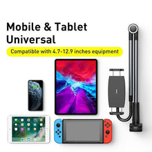 Load image into Gallery viewer, Lazy Holder for Bed Desk Desktop Phone Holder Long Arm Flexible Mobile Phone Stand Holder Table Clip Bracket for Phone