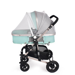 Universal Baby Stroller Mosquito Net Summer Mesh Fly Insect Protection for yoyo yoya plus and 99% Pushchair Safety Seats