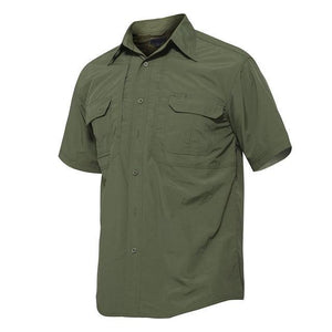 Men's Shirts Military Clothing Quick Dry Tactical Shirt Lightweight Short Sleeve Cargo Work Shirt Combat Utility Shirts