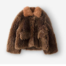 Load image into Gallery viewer, real fur coat winter jacket women Merino Sheep Fur real Genuine Leather liner Thick Warm natural Fur parka