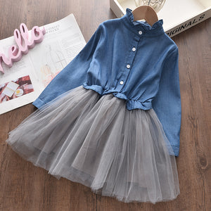Casual Girls Clothing Sets New Summer stripe Printing T-Shirt Skirt Suit Lace Kids Girls Clothes Cute Two Pieces Suit Outfits