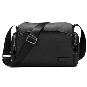Messenger Bags mans Shoulder Bag for Short Trips Casual PVC Finish Business Crossbody Bag Male