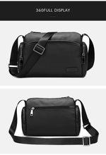 Load image into Gallery viewer, Messenger Bags mans Shoulder Bag for Short Trips Casual PVC Finish Business Crossbody Bag Male