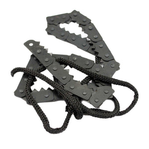 Camping Hiking Emergency Survival Hand Tool Gear Pocket Chain Saw ChainSaw Camping Saws - moonaro