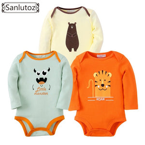 Bodysuits Boys Girls Baby Clothing Set Infant Jumpsuits Newborn Baby Clothes - moonaro