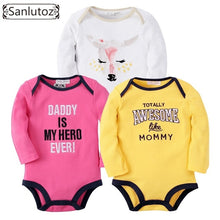 Load image into Gallery viewer, Bodysuits Boys Girls Baby Clothing Set Infant Jumpsuits Newborn Baby Clothes - moonaro