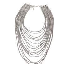 Load image into Gallery viewer, Luxury metal chain choker Maxi Statement Necklace Multilayer Wedding chokers Collier Fashion jewelry