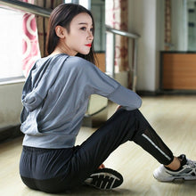 Load image into Gallery viewer, Woman T-shirt For Women Sports Wear Gym Fitness Tank Sport Yoga Top Hoodies Workout Tops Women's Shirt