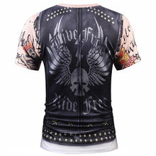 Load image into Gallery viewer, Designer Stylish 3d T-shirt Men/Women Tops Print Fake Leather Jacket T shirt 3d Summer Tees Shirts