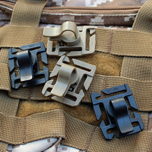 Load image into Gallery viewer, Drink Tube Clip Gear Water Pipe Hose Clamp Backpack Molle Carabiner Tactical Buckle Outdoor Camping Hike