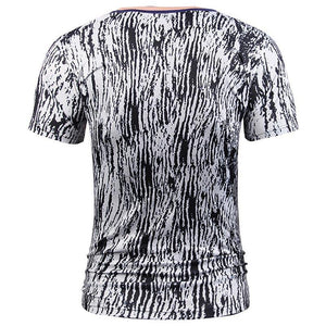 Fashion Designed T-shirt Men Summer Tops Tees Print Suit Jacket Fake Two Pieces T-shirt 3d T shirt